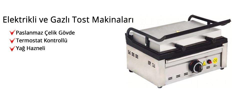 Elektrikli ve Gazlı Tost Makinaları/Eser Mutfak Ekipmanları